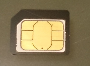 nano SIMをmicro SIMに変換